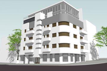 """פרויקט """"יהודה הלוי 45""""- תל אביב (22 יחידות דיור)"""